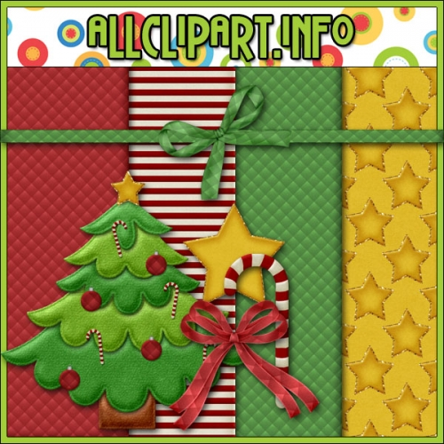 "Christmas Mini Digital Scrapbooking / Card Making Kit - "".00"