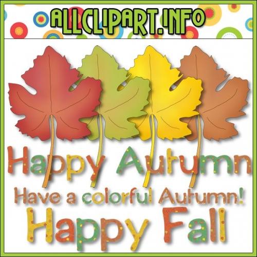 "Happy Fall Clip Art by AllClipART.info - alt=""Happy Fall Clip Art by AllClipART.info - $1.00"" .00"