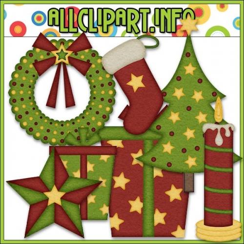 "Aviator Santa Accents Clip Art by AllClipART.info - "".00"