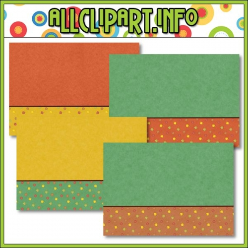 "Happy Fall Printable Paper Craft Card Starters - "".00"