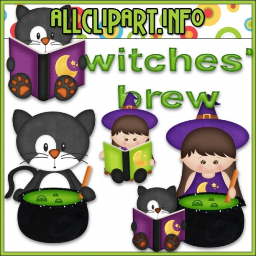 "Little Witches 2 Clip Art by AllClipART.info - "".00"