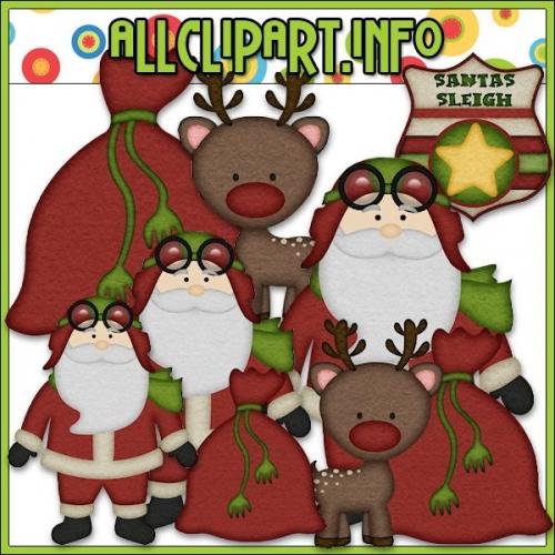 "Aviator Santa 1 Clip Art by AllClipART.info - "".00"