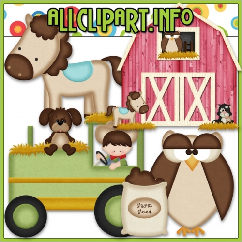 "Down On The Farm 1 Clip Art by AllClipART.info - "".00"