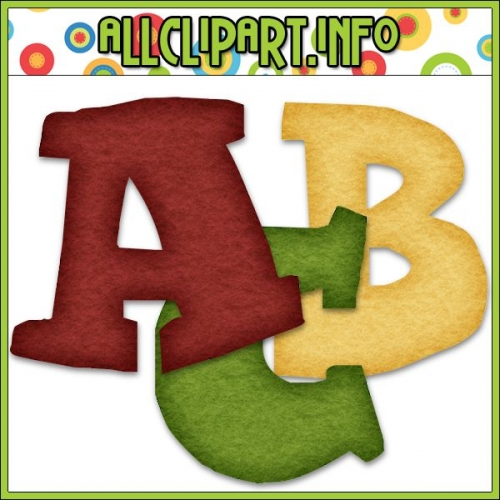 "Aviator Santa Digital Scrapbooking / Card Making Alphas - "".00"