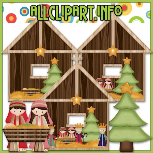 "Away In A Manger 2 Clip Art by AllClipART.info - "".00"