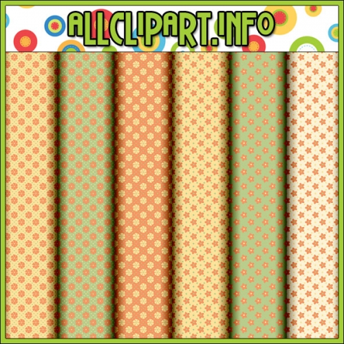 "Citrus Cows 1 - Digital Scrap / Card Making Papers - alt=""Citrus Cows 1 - Digital Scrap / Card Making Papers - $1.00"" .00"