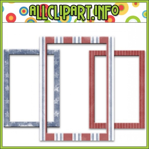 "Liberty Kids Frames Embellishments 1 (5x7) - "".00"