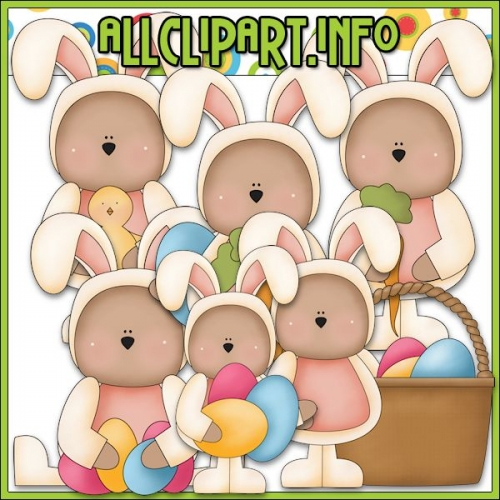 "Easter Bears Clip Art by Primsy Doodle Designs - alt=""Easter Bears Clip Art by Primsy Doodle Designs - $1.00"" .00"