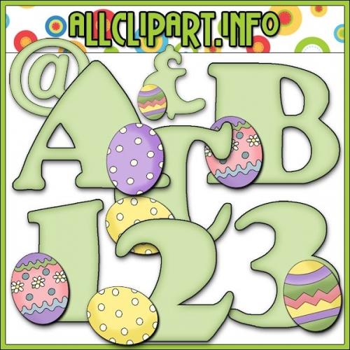 """Spring Egg Lettering Delights Alphas - alt=""""Spring Egg Lettering Delights Alphas - $1.00"""" .00"""