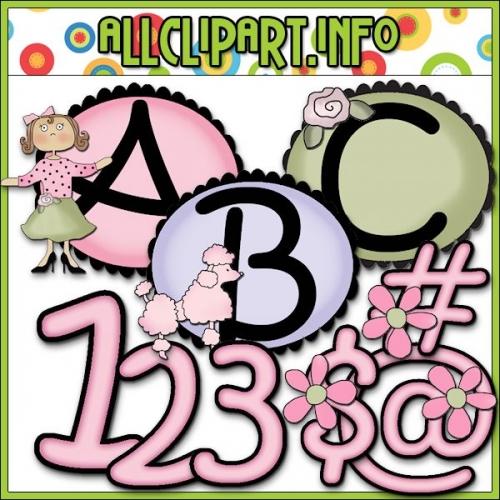 """Chic Boutique Lettering Delights Alphas - alt=""""Chic Boutique Lettering Delights Alphas - $1.00"""" .00"""
