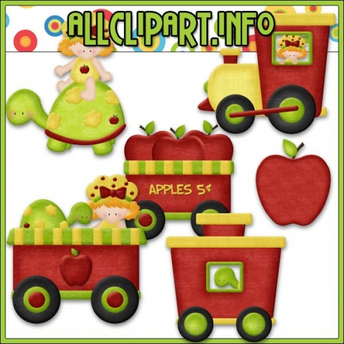 "Berry Sweet Choo Choo (Apple) Clip Art - "".00 : Welcome to AllClipART.info ~ We offer High Quality Graphics in downloadable jpg & png formats., Clip Art Graphics, Printable Paper Crafts, CU/PU Kits, Digital Stamps, Digital Papers & Free Downloads!"