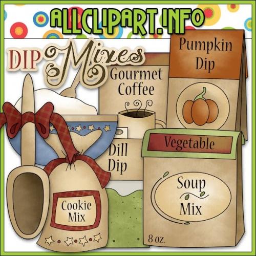 """Dip Mixes Clip Art - alt=""""Dip Mixes Clip Art - $1.00"""" .00"""