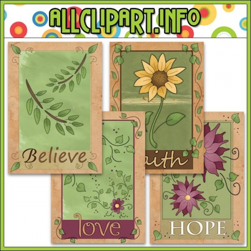 "Floral Card Fronts (5x7) - alt=""Floral Card Fronts (5x7) - $1.00"" .00"