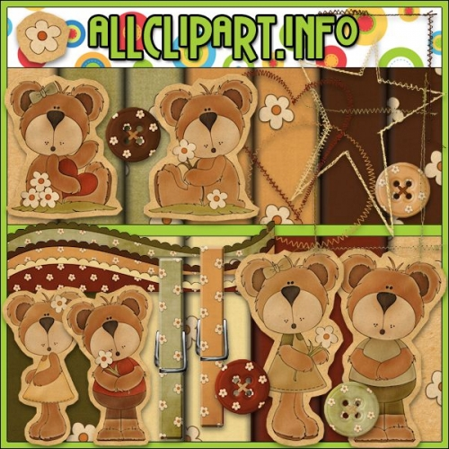 Simply Bears CU / PU Kit - It's Free!