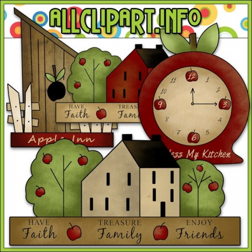 "Apple Inn Clip Art - alt=""Apple Inn Clip Art - $1.00"" .00"