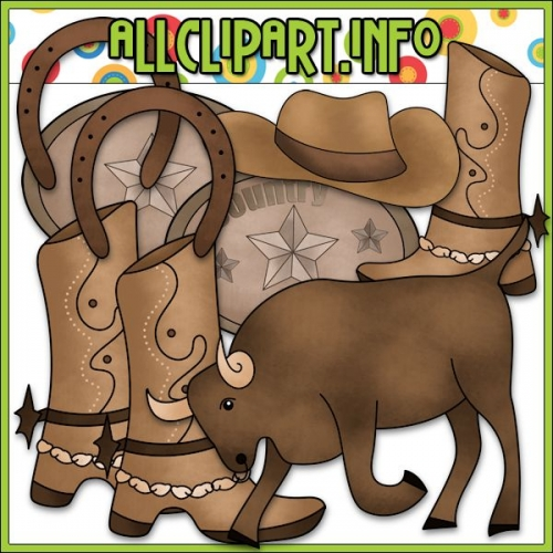 "Country Western Clip Art - alt=""Country Western Clip Art - $1.00"" .00"