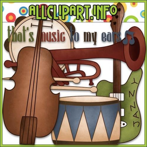 "Music To My Ears Clip Art - alt=""Music To My Ears Clip Art - $1.00"" .00"