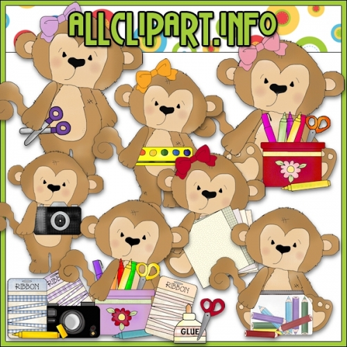 "My Little Craft Monkey Clip Art - alt=""My Little Craft Monkey Clip Art - $1.00"" .00"