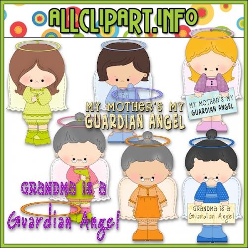 """Guardian Angels Clip Art - alt=""""Guardian Angels Clip Art - $1.00"""" .00"""