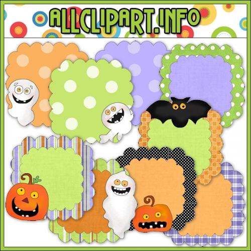 """Spooky Days Halloween Frames - alt=""""Spooky Days Halloween Frames - $1.00"""" .00"""