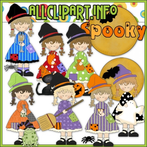"Halloween Witches 1 Clip Art - alt=""Halloween Witches 1 Clip Art - $1.00"" .00"