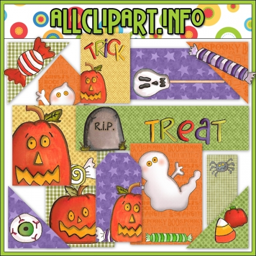 "Trick or Treat Scrappin Delights CU / PU Kit - alt=""Trick or Treat Scrappin Delights CU / PU Kit - $1.00"" .00"