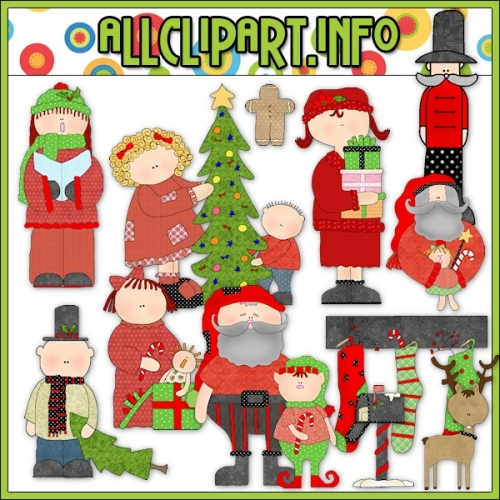 "Hodge Podge Holiday Cheer Clip Art - alt=""Hodge Podge Holiday Cheer Clip Art - $1.00"" .00"