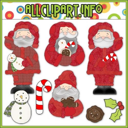 "Hodge Podge Santa Prim Clip Art - alt=""Hodge Podge Santa Prim Clip Art - $1.00"" .00"