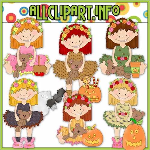 "Halloween Ballerina Clip Art - alt=""Halloween Ballerina Clip Art - $1.00"" .00"
