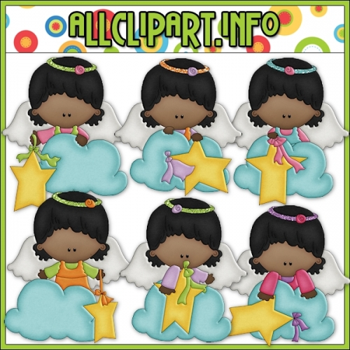 "Angel On A Cloud 3 Clip Art - alt=""Angel On A Cloud 3 Clip Art - $1.00"" .00"