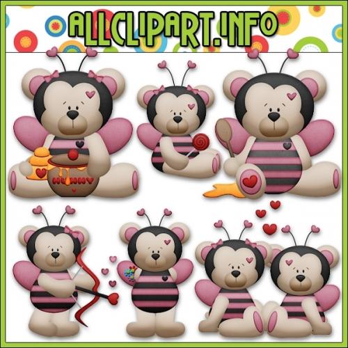 "Bumble Bee Mine Bears Clip Art - alt=""Bumble Bee Mine Bears Clip Art - $1.00"" .00"