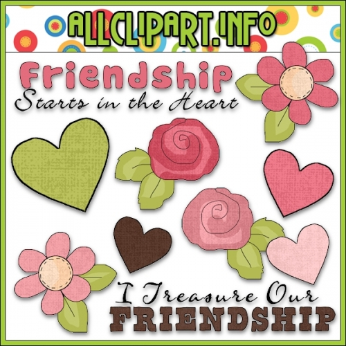 "True Friendship Clip Art - alt=""True Friendship Clip Art - $1.00"" .00"
